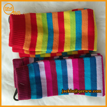 2015 China Supplier Knitted acrylic striped colourful legging/wholesale leggings