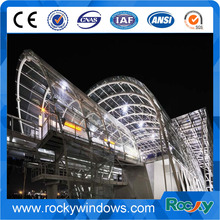 High quality wholesale price aluminum glass curtain wall