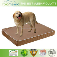 Extra Large Memory Foam Waterproof Washable Cover Orthopedic Pet Dog Bed