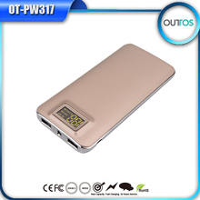 Newest fashion fast charge 12000mAh power bank rechargeable battery
