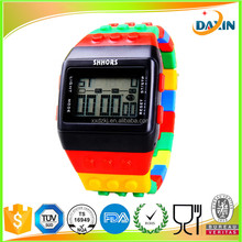 Popular colorful LED silicone watch /girl boy unisex watches