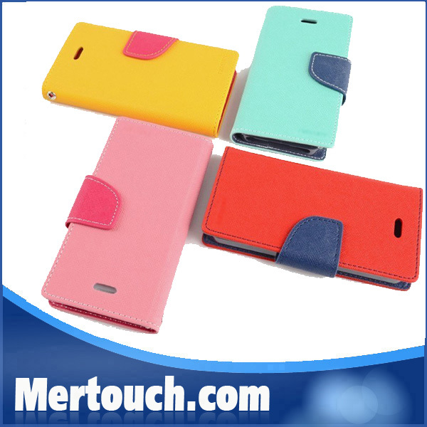 wallet leather case for samsung S3 , wallet card holder case for samsung S3 , wallet flip case for samsung S3 (mercury)