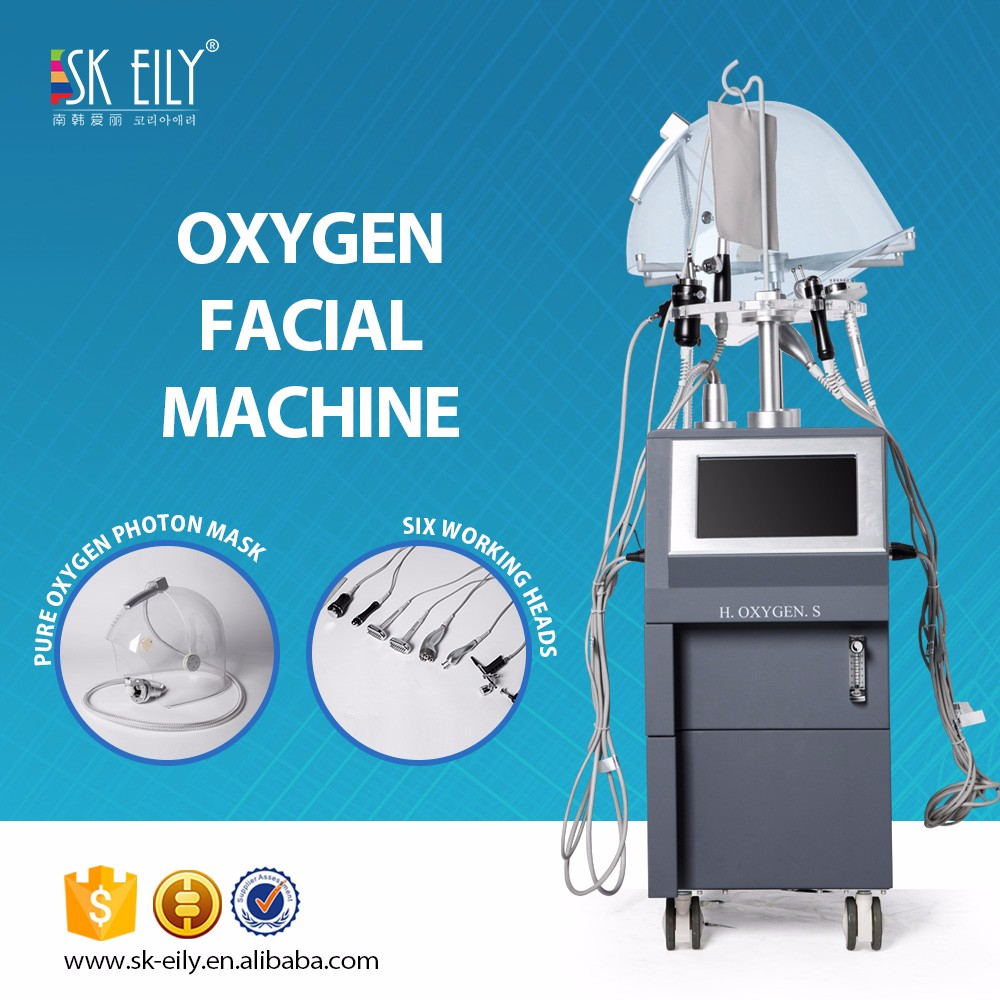 9 and 1 water oxygen facial machine for spa use