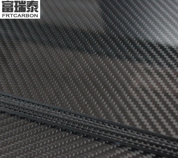 rigid carbon fiber composite sheet in a double-sided plate 30x10cm 2mm for for dji multicopter parts