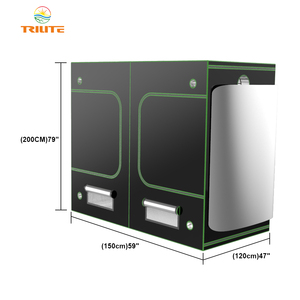 Mylar Grow Tent 600D Grow Box Dark Room Gardening Green House Led Grow Tent