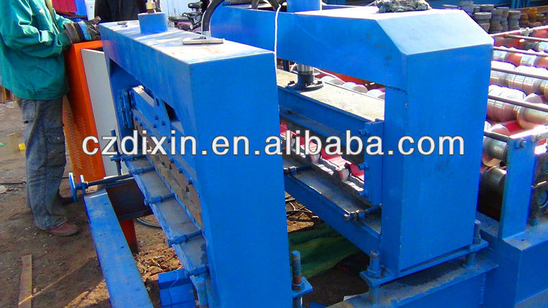 Antique tiles for roof roll forming machine Glazed Tile Steel Roofng Sheet Cold Roll Forming Machine Roll Former