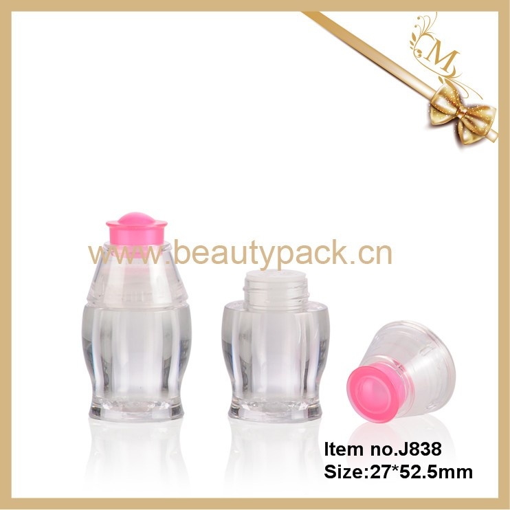 Wholesale fancy plastic cosmetic jars