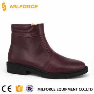 MILFORCE-brown color casual shoes high neck leather shoes for men