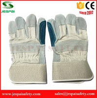 cheap leather hand gloves for safety work