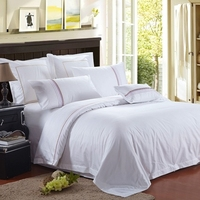 professional hotel bed linen for hotel life sheet sets with Twin Queen King size