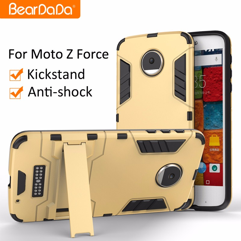 2017 Hot Product tpu pc cell phone cover case for motorola z force