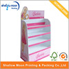 Supermarket Promotion Floor Shelf Cardboard CD Display Stand .