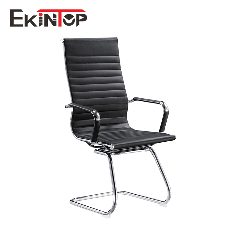 New business durable Z shape aluminum frame adjustable height office chair no wheel
