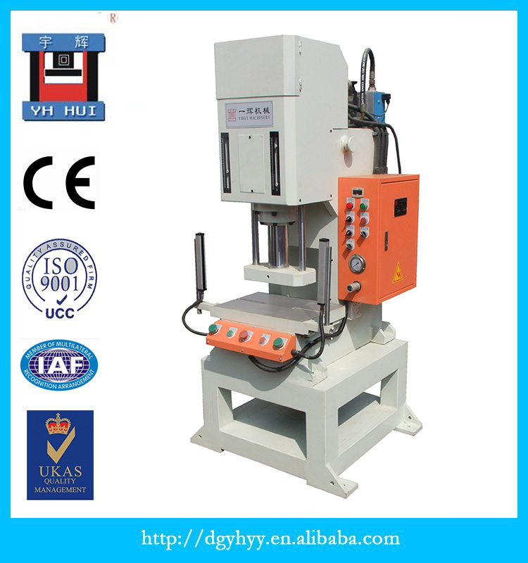 Hydraulic Servo Press Punching Riveting for Auto Parts C Shape Metal Bending Machine