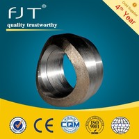 High pressure forged pipe fittings size welding for weldolet