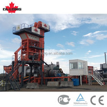 56t/h mini mobile asphalt batching mixing plant with low cost