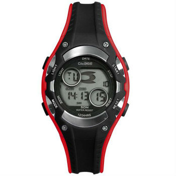 New Products Red Waterproof Digital Ladies Sports Watch