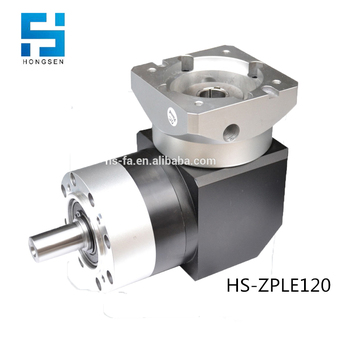 HS-ZPLE120 Right angle two stages planetary gearbox for 2000w motor