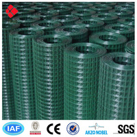 "hot sale 1/2"" square PVC Coated Welded Wire Mesh"