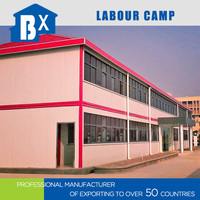 Factory supply low cost prefab homes for labor camp