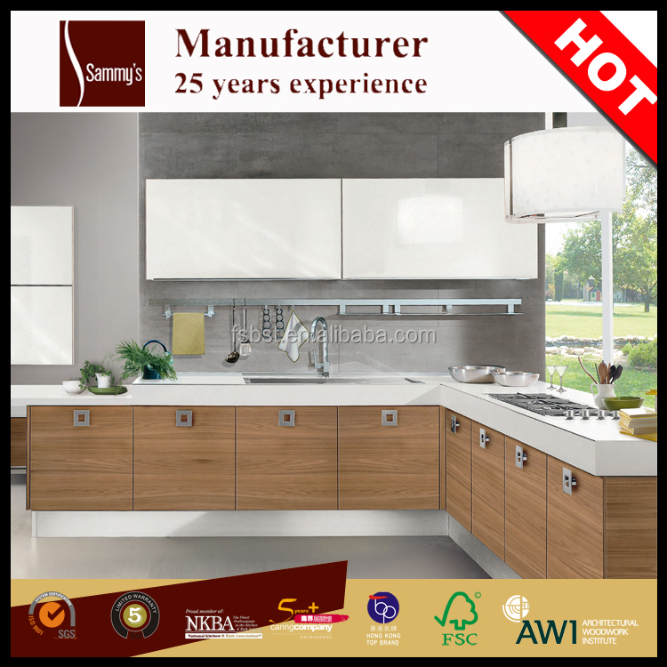 AK467 Solid wood Kitchen model indian kitchen design