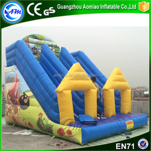 Game characters giant inflatable water slide with low price high quality
