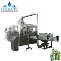 Automatic Plastic Bottle Hot Drinks Washing Filling Capping Machine