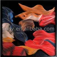 2015 Modern wall art physical pictures handmade beautiful pictures