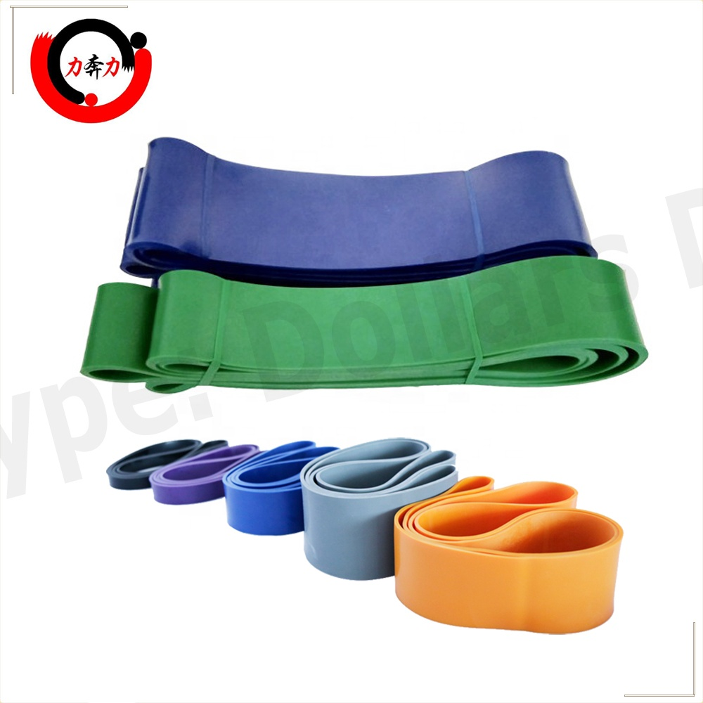 Heavy Duty Latex Resistance Bands Type <strong>Fitness</strong> Pull Up Assist Band for Powerlifting Training