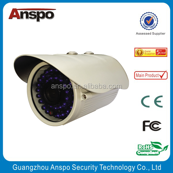 High Quality Perfect weatherproof Gun Type camera IR bullet cameras manufacturer