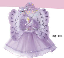 Fancy cute butterfly wings with dress for kids DQ-130