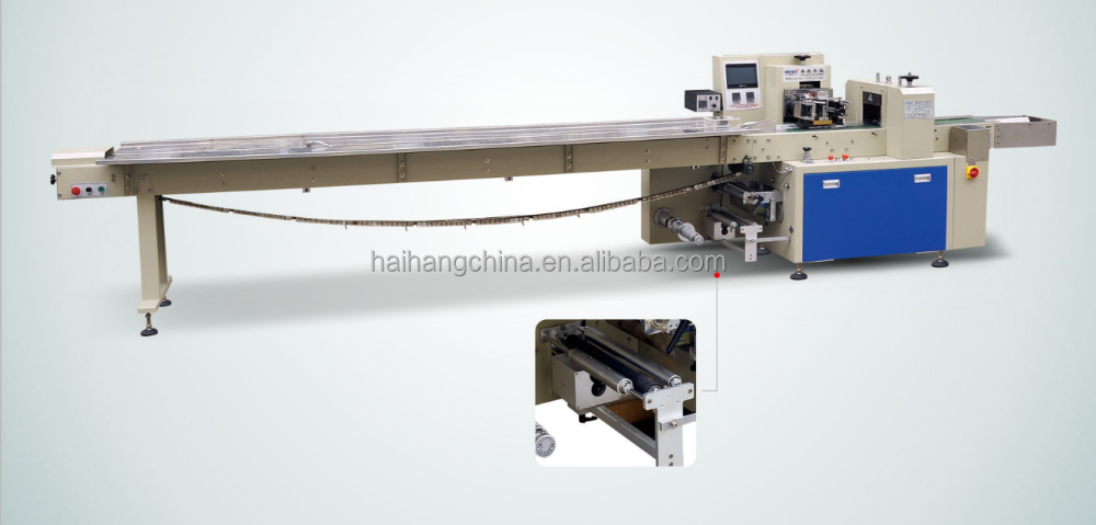 pillow type disposable syringe needle packing machine