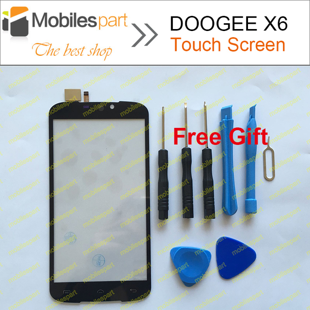DOOGEE X6 Touch Screen 100% Original  Panel Digitizer Replacement Touch Screen For DOOGEE X6 Phone In Stock