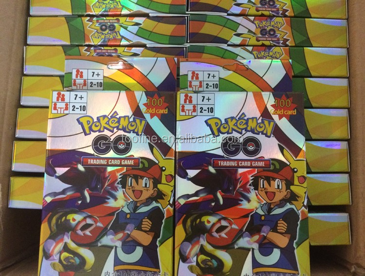 Hot Selling Pokemon ex <strong>Card</strong> Mega Factory 100 pcs Pokemon <strong>Cards</strong>