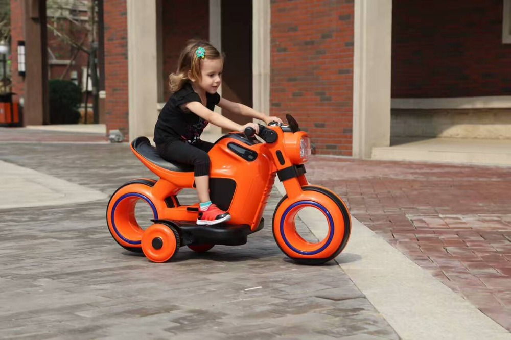 Best quality kids electric motorcycle with music and light