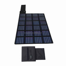 60W foldable&flexible amorphous 12v solar car battery charger