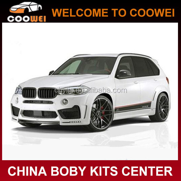 Top Quality L Style X5 F15 PU Material Auto Wide Bodykits For BMW X5 F15 2014