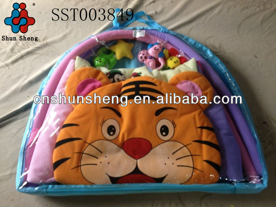 Tiger Type Kids Toys Plastic Baby Play Mats