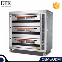 Commercial Automatic Bakery Gas Electric Bread Baking Oven/ bakery machinery for bread making/ bread baking oven
