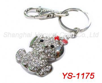 YS-1175 New arrival good quality keychain condom holder in many style