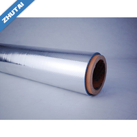 China supplier custom fireproof aluminum foil woven wrap for wall protection insulation