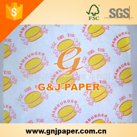 High Quality Decorative Wax Coated Paper Food Box