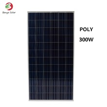 High Quality Hot Sale 36V 300W Poly Solar Panel For Farm/Bulb Grade A