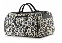 New Style High Capacity Pu Leather Travel Tote Bag