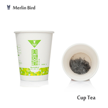 OEM Private Label Jasmine Green Tea in Single Tier Cup