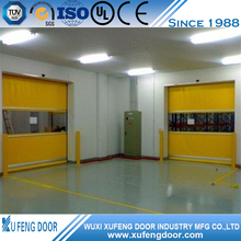 PVC Folding High Speed Sheet Fast Rolling Shutter Door
