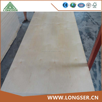 Competitive Price 1.2mm-2.4mm Thin Birch Plywood