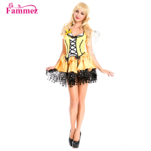 New arrivals W3043 customized Flower Fairy halloween costume halloween costume manufacturers china