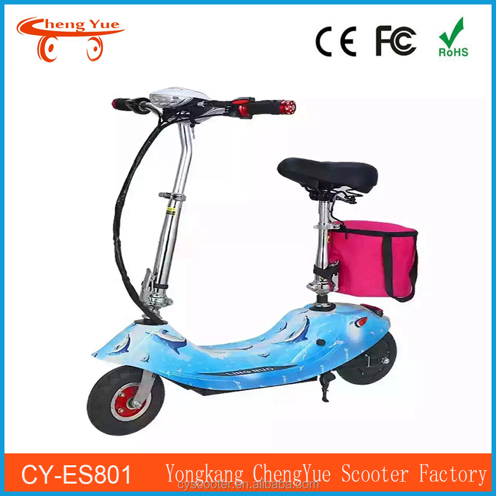 Single slot electric scooter enclosed hydrocarbon ultrasonic cleaning