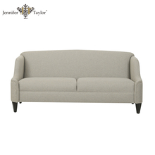 Modern style most popular fabric bench sofa/long sofa seat